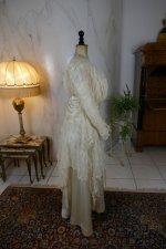 20 antique wedding dress Barcelona 1908