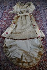 36 antique LEROUX Ball gown 1890
