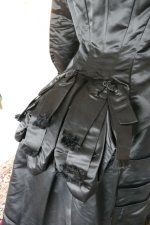 29 antique Pingat bustle dress 1880