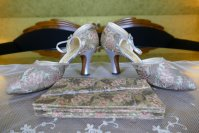 2 antique flapper shoes 1929