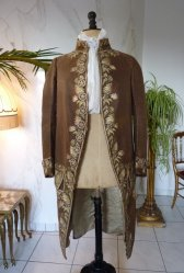 antique formal coat 1780