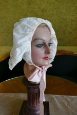 10 antique boudoir bonnet 1910