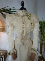 15 antique wedding Gown 1895