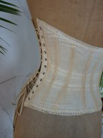 10 antique underbust corset 1900