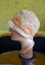 5 antique cloche hat 1927
