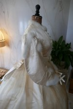 33 antique wedding dress 1876