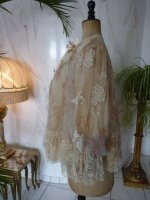 9 antique bed jacket