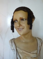 antique hair wig
