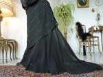27 antique walking gown 1901