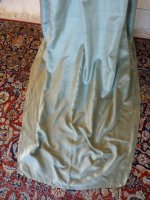 29 antique silk dress 1800