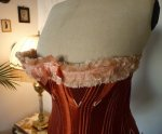 4 antique maternity corset 1885