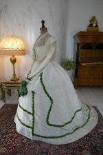 9 antique ball gown 1865