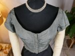 1 antique bodice 1850