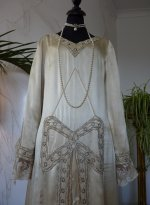 4 antique wedding dress 1920