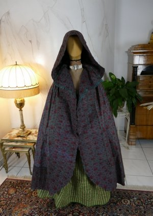 antique hooded cape 1790