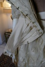 28 antique LEROUX Ball gown 1890