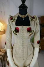 4 antique bustle dress 1880