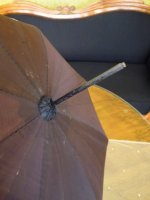 5 antique parasol