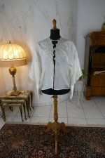 2 antique boudoir jacket 1910
