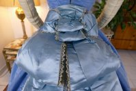 43 antique ball gown 1864