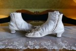 7 antique wedding boots 1855