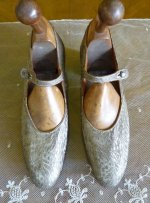 2 antique flapper shoes 1920