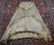 50 antique ALTMANN Battenburg lace dress 1904