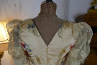 19 antique LEROUX Ball gown 1890