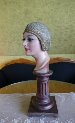 7 antique cloche 1924