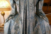 29 antique robe a la francaise 1770