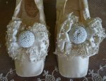 6 antique wedding shoes 1855
