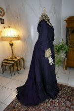 20antique Madame Percy Visiting gown 1898