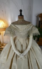 4 antique ball gown 1859