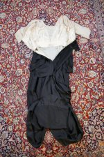 37 antique evening gown Nelmarie 1913