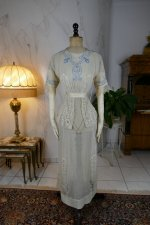 2 antique summer dress 1906