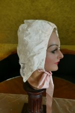 9 antique boudoir bonnet 1910