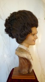 9 antique wax mannequin
