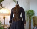 1 antique bustle gown