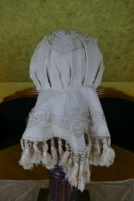 9 antique wedding bonnet 1870