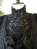 4a antique Worth evening dress 1898