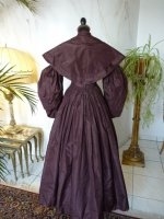 26 antique romantic period gown 1837