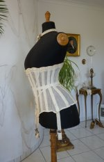 27 antique summer corset 1890