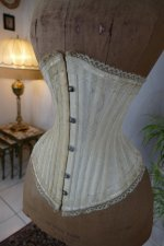 6 antique PD Marcel corset 1900