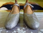 4 antique flapper shoes 1920