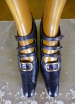 2 antique edwardian shoes 1901