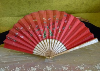 antique fan 1910