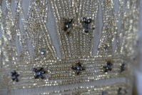 8 antique beaded flapper evening dress 1922