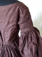 15 antique romantic period gown 1837
