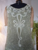 27 antique flapper dress 1925