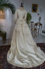 37 antique wedding gown 1874